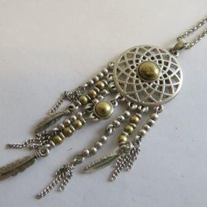 Lucky brand dream catcher necklace